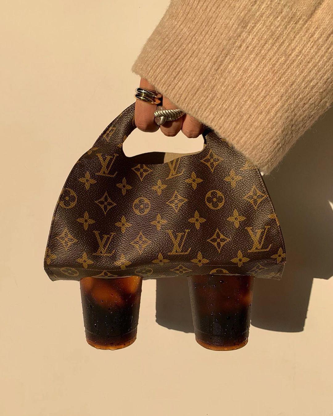 Desainer Jepang Ini Bikin Tas Bubble Tea Louis Vuitton dan Dior