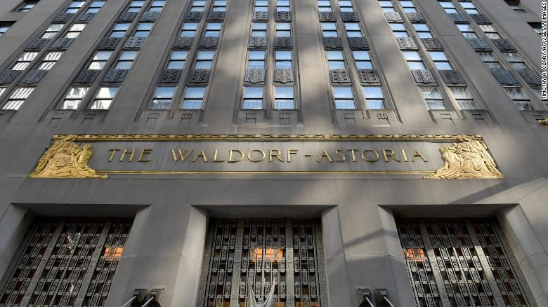 Hotel The Waldorf Astoria New York