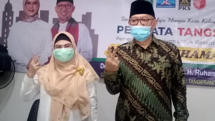 Calon Walikota Tangerang Selatan (Tangsel) Siti Nur Azizah menggelar pertemuan di Posko Kemenangan, Rawa Buntu, Kecamatan Serpong.  Dalam pertemuan tersebut, putri Maruf Amin ini menuturkan bahwa Kota bertajuk Cerdas, Modern dan Religius, perlu ada perubahan.