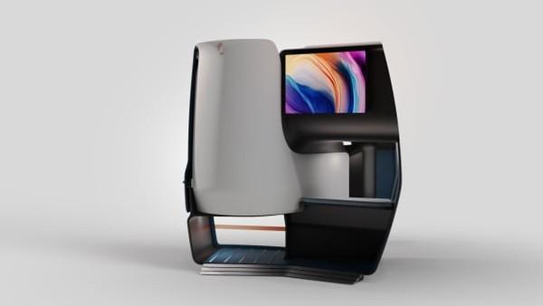 Desain super lega diyakini desainer akan mengubah muka kabin kelas bisnis setelah satu dekade tanpa perubahan. Desain monocoque terbaru ini juga memungkinkan pembuatan kursi yang ringan.
