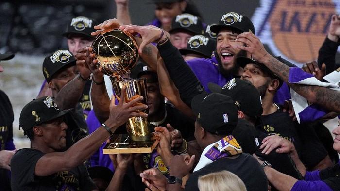 Atasi Miami Heat Di Final La Lakers Juara Nba 2020