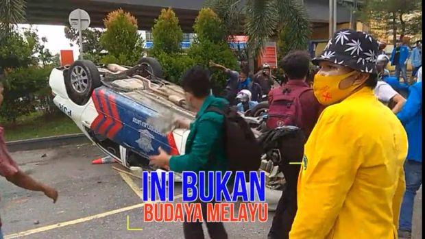 Mahasiswa gadungan ditangkap polisi di Riau (dok. Istimewa)