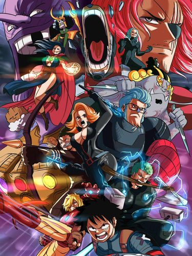 One Piece Jadi Karakter Marvel