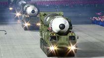 Ini Dia Truk Monster Pengangkut Rudal Antarbenua Korut Kebanggaan Kim Jong Un