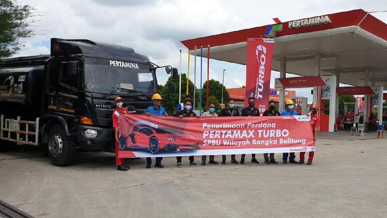 Pertamina memperluas penjualan Pertamax Turbo ke Bangka Belitung.