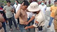 3 Pria Bawa Alkohol Mau Ikut Demo Omnibus Law di DPRD Kaltim Diciduk