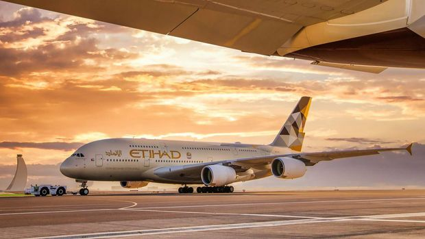 Airbus A380 Etihad Airways