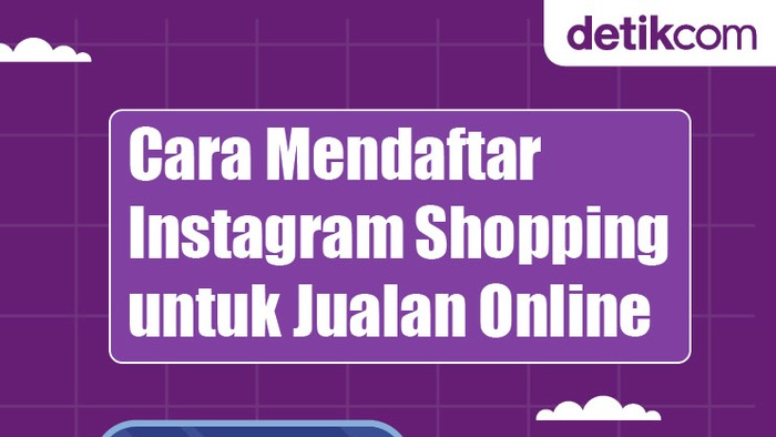 Infografis Mendaftar Instagram Shopping