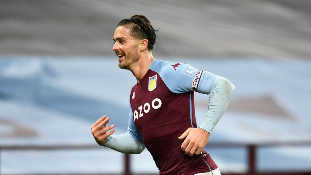 Manchester City Kepincut Jack Grealish