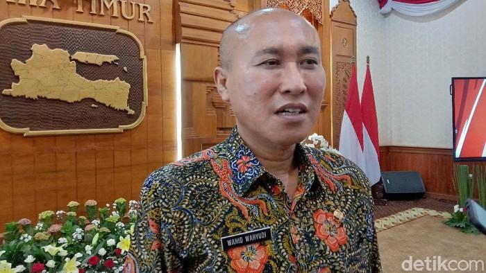Kepala Dispendik Jatim Wahid Wahyudi