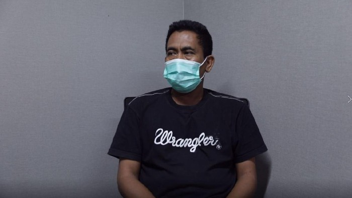 Ketua KAMI Medan, Khairi Amri di Bareskrim, Polri