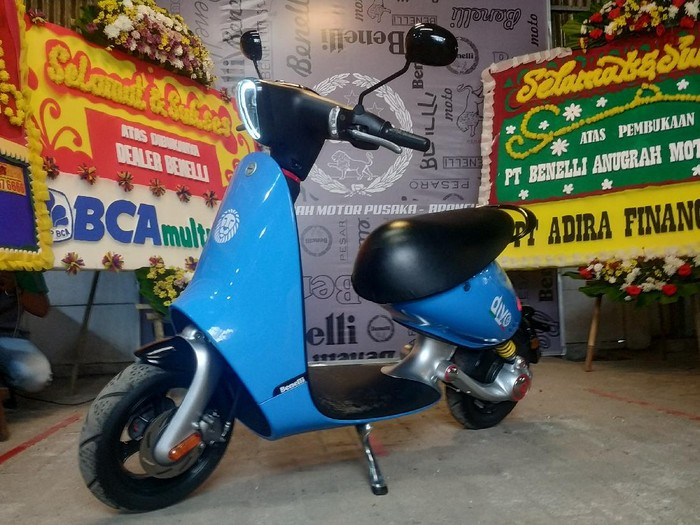 Motor listrik Benelli Divo