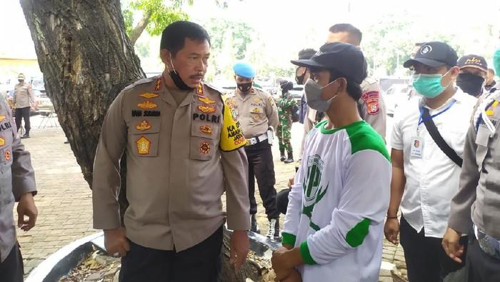 Pemuda beratribut FPI diamankan di Monas, kedapatan bawa ketapel