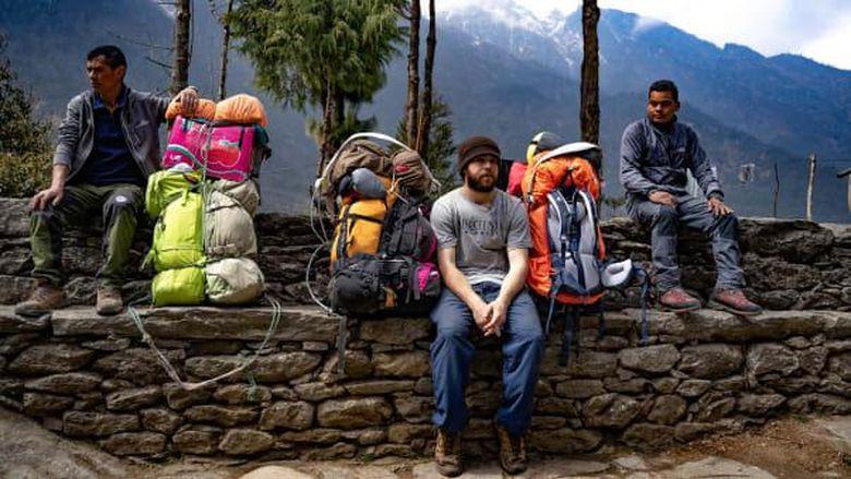 Porter di Gunung Everest