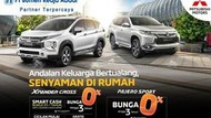 Promo Xpander Cross & Pajero Sport, Nikmati Cicilan Bunga 0%