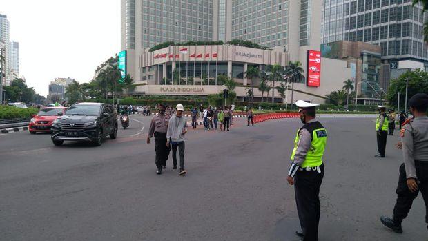 Ratusan remaja diamankan di HI usai menghadang truk di Jaktim