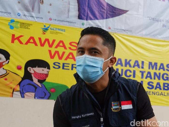 Wakil Bupati Bandung Barat Hengky Kurniawan.