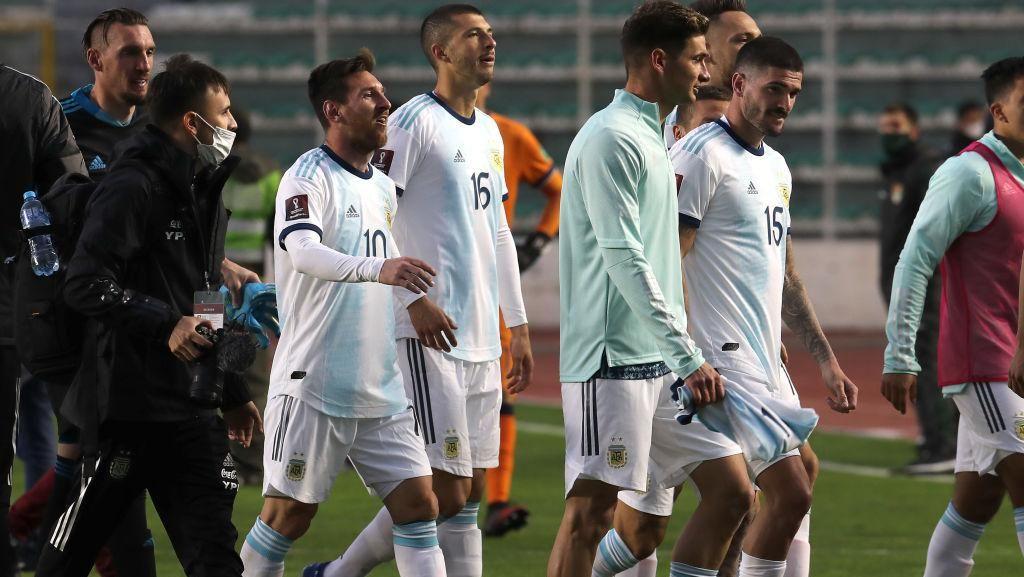 Messi Ribut dengan Kapten Bolivia