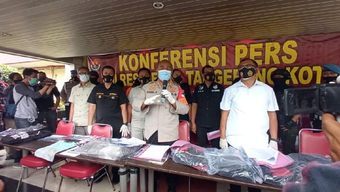 6 Orang Ditetapkan Tersangka Demo Ricuh di Tangerang Kota