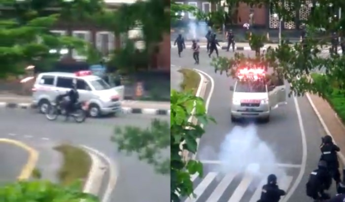 Viral mobil ambulans kabur dari sergapan aparat kepolisian di kawasan Jakarta Pusat. Polisi pun sudah mengamankan mobil tersebut beserta tiga orang.