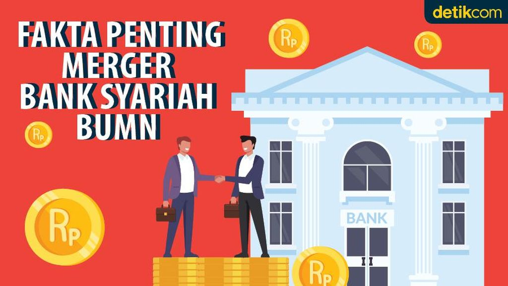 Sah! Merger Bank Syariah BUMN Dapat Izin OJK