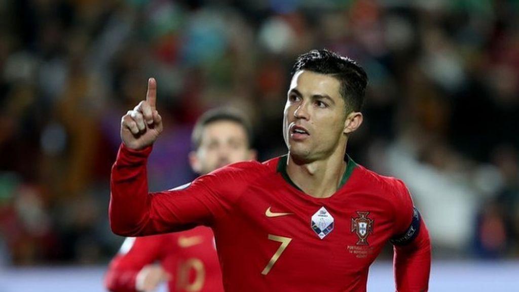 Cristiano Ronaldo Belum Sembuh dari Covid-19