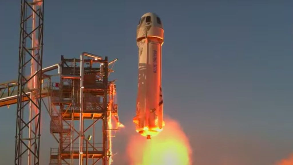 Dirancang Bawa Turis, Roket Pendiri Amazon Uji Sistem Pendaratan di Bulan