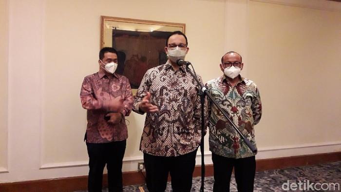 Gubernur DKI Jakarta Anies Baswedan (M Ilman/detikcom)