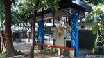 Halte Bus di Kota Bandung Jadi Sasaran Vandalisme