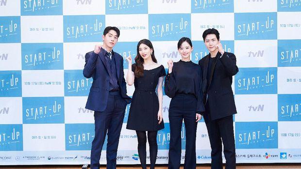 Jumpa Pers Drama Korea Start-Up