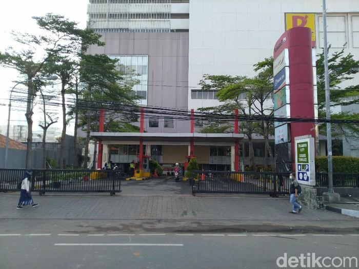 Kondisi terkini Thamrin City (Sachril Agustin Berutu/detikcom)