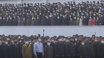 Ribuan Warga Korea Utara Kenakan Masker untuk Pertama Kali