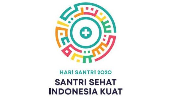 logo hari santri 2020