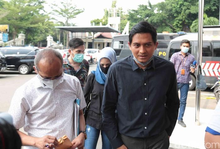 Lucky Hakim saat ditemui di Polres Jakarta Selatan.