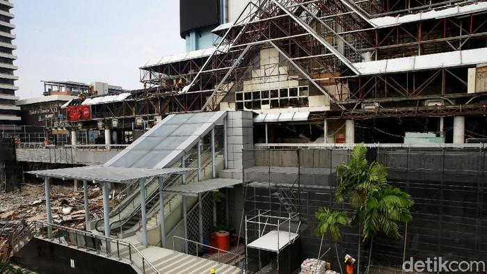 Renovasi pusat perbelanjaan Sarinah terus dikebut di tengah pandemi. Estimasi sementara untuk pemugaran termasuk renovasi menelan biaya Rp 700 miliar.