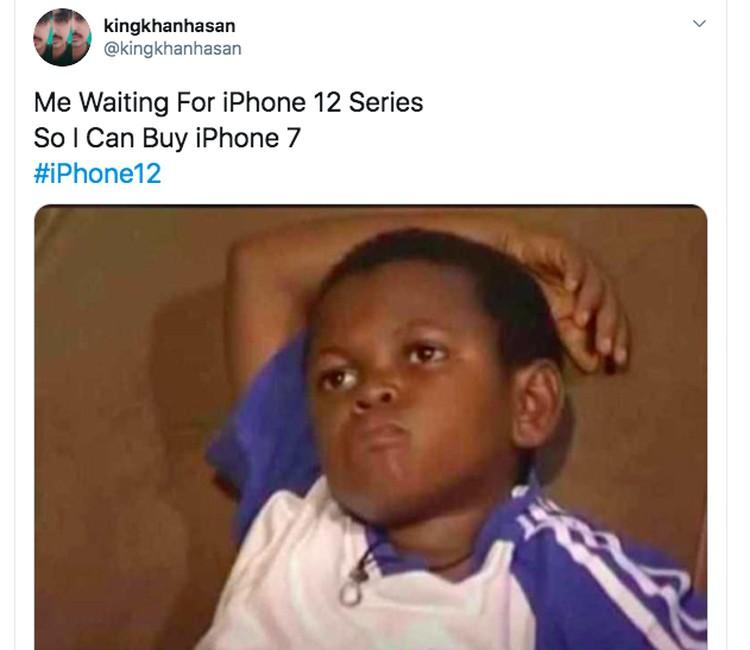 Meme iPhone 12