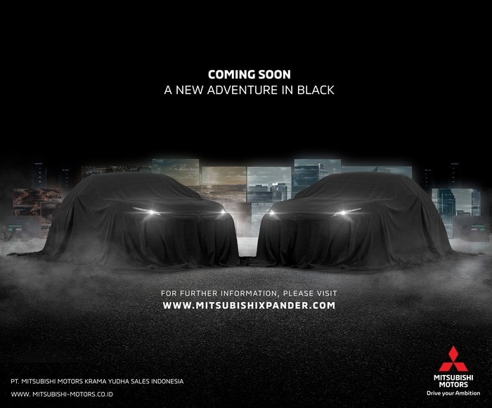 Mitsubishi Siapkan Xpander Serba Hitam?