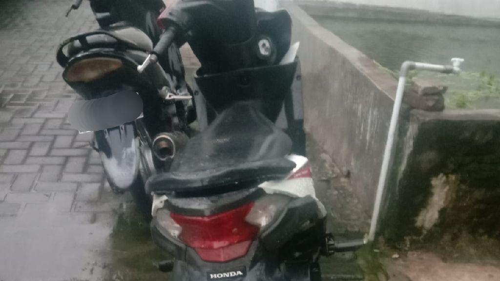 Cewek Pengendara BeAT Dijambret, Ingat Lagi Bahaya Taruh Barang di Dasbor Motor