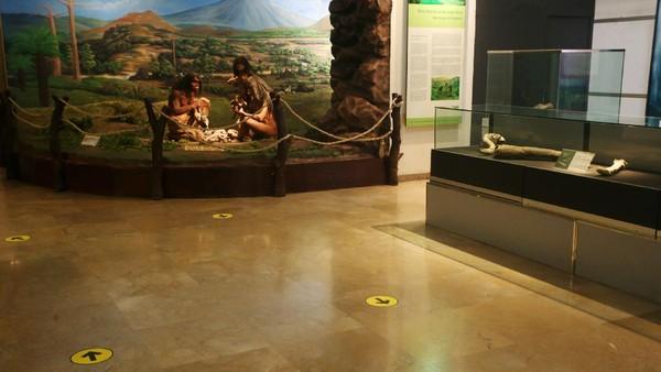 Protokol kesehatan secara ketat akan diterapkan di area museum untuk mengantisipasi penyebaran virus Corona.