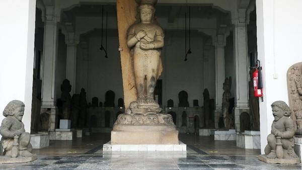 Museum Nasional Indonesia terletak di Jalan Merdeka Merdeka Barat, Jakarta Pusat, Rabu (14/10/2020).