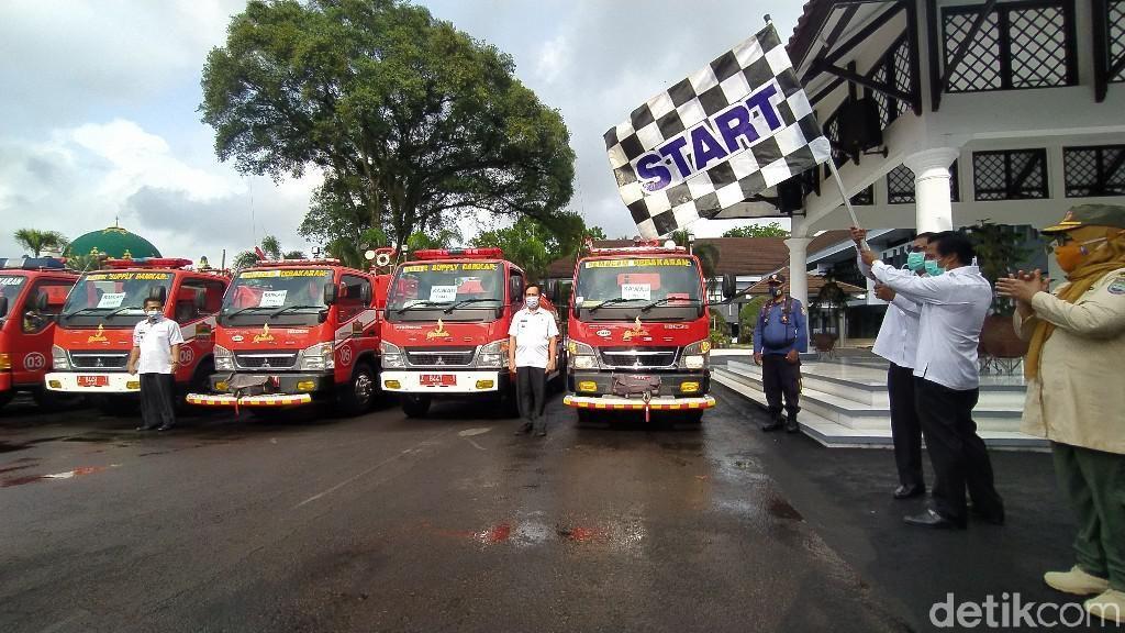 Respon Cepat Kebakaran, Pemkab Ciamis Sebar Armada Damkar ke 3 Daerah