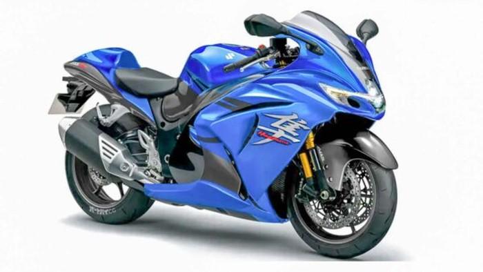 Suzuki Hayabusa Baru Meluncur Akhir Tahun Mesin Lebih Buas Fitur Lebih Modern