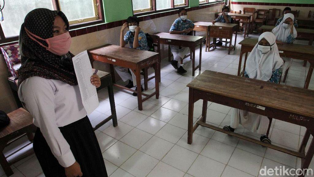 Uji Coba Sekolah Tatap Muka dengan Protokol Kesehatan Ketat