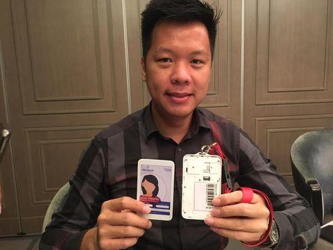 Startup penyedia aplikasi pemantaun kendaraan, Fox Logger, 'banting setir' dengan menghadirkan ID card canggih untuk melacak pasien COVID-19.