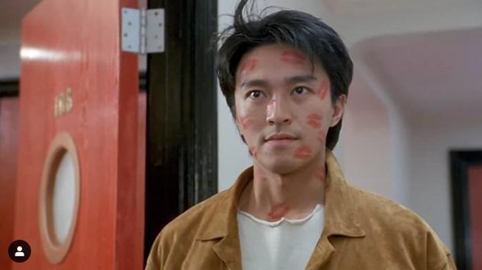 Stephen Chow dan aktris cantik.