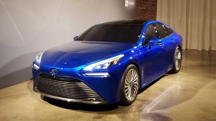 Toyota Mirai meluncur Desember 2020.