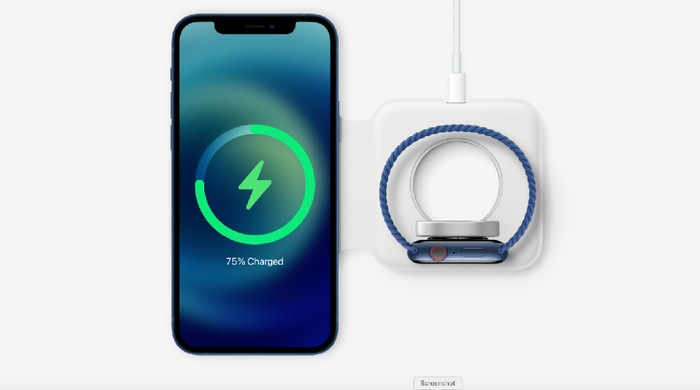 Wireless charger MagSafe untuk iPhone 12