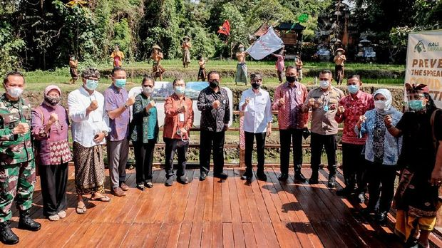 Peluncuran program We Love Bali, Rabu (14/10/2020).