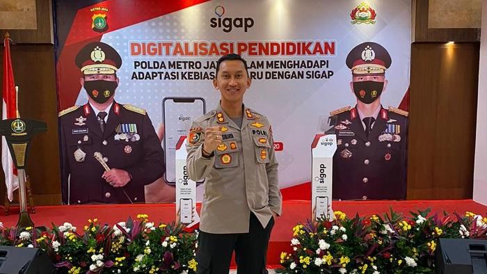AKBP Andi Sinjaya Ghalib menjabat sebagai Kapolres Enrekang
