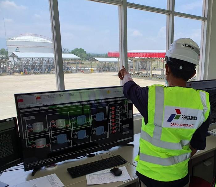 Depot Pengisian Pesawat Udara (DPPU) di Bandar Udara Internasional Kertajati (BIJB)